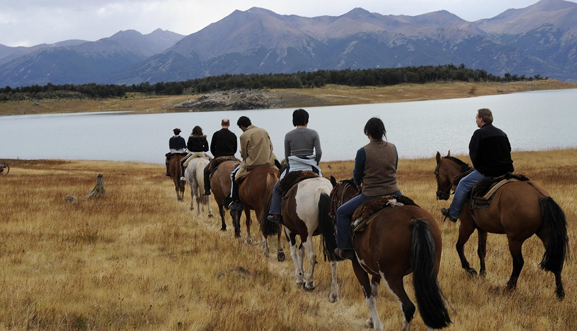 Trail Ride, Patagonia, Argentina,  Great Places for a Multigenerational Vacation