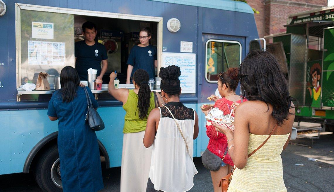 Festival de camiones de comida Truckeroo, Washington D.C.