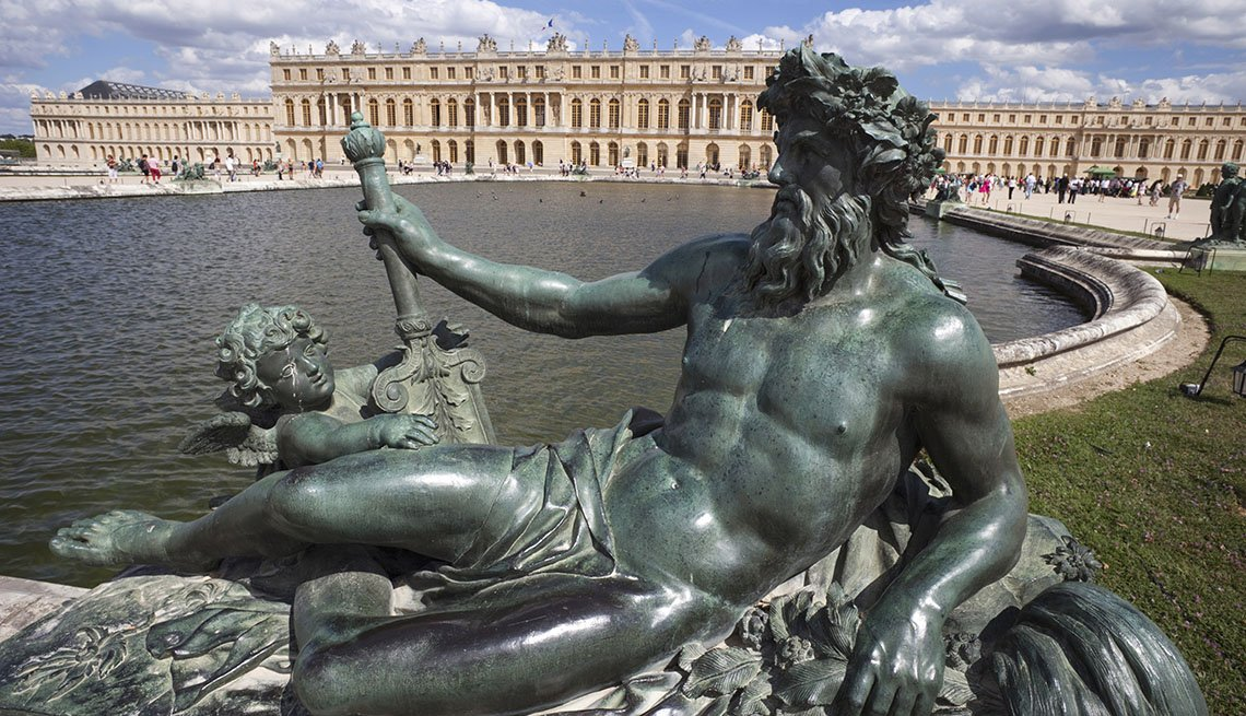 The View Of The Palace Of Versailles Near Paris France, World's Best Castles