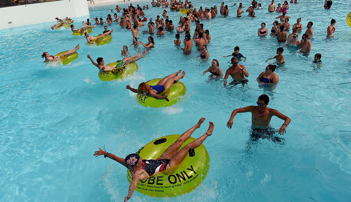 Lifeguard Games, Hyland Hills Water World, Denver, Colorado, Best Water Parks in America