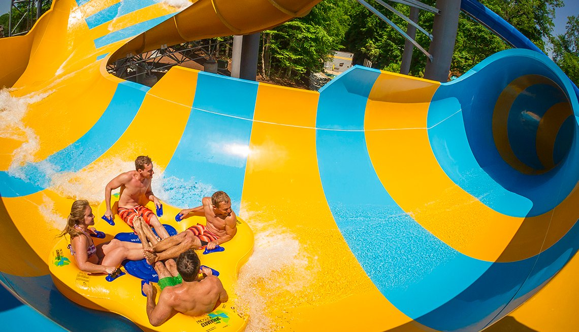 Colossal Curl, Water Country USA, Williamsburg, Virginia, Best Water Parks in America