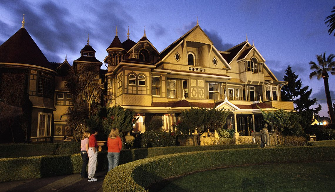 The Winchester Mystery House In San Jose California, Strange Destinations