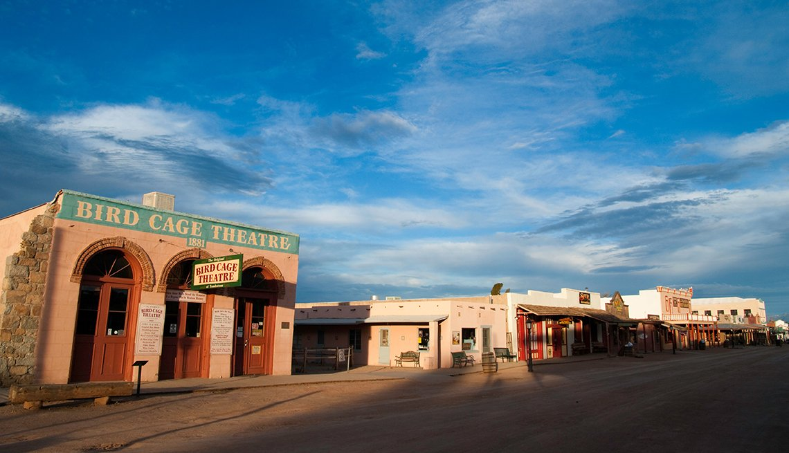 The Birdcage Theater In Tombstone Arizona, Ghost Tours