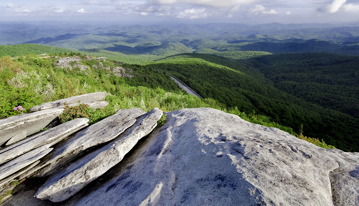 item 8 of Gallery image - View Of The Mountains And The Blue Ridge Parkway, Best Road Trips