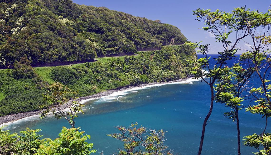 item 5 of Gallery image - View Of Ocean And Hana Highway In Maui, Best Road Trips