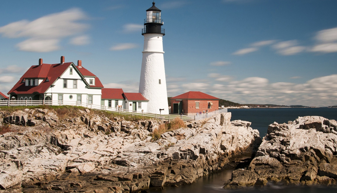 item 4 of Gallery image - The Lighthouse In Maine New England, Best Road Trips