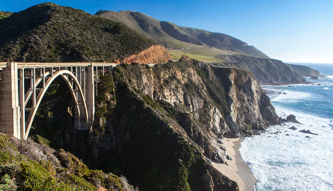 item 1 of Gallery image - Route One Pacific Coast Highway In California Hugs The Rocky Coastline, Best Road Trips