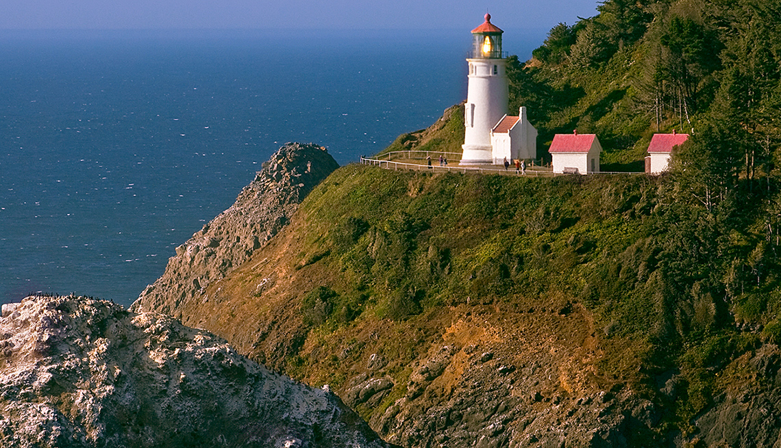 item 7 of Gallery image - Road Hugs The Rocky Coastline And Passes By Lighthouse In Oregon, Best Road Trips