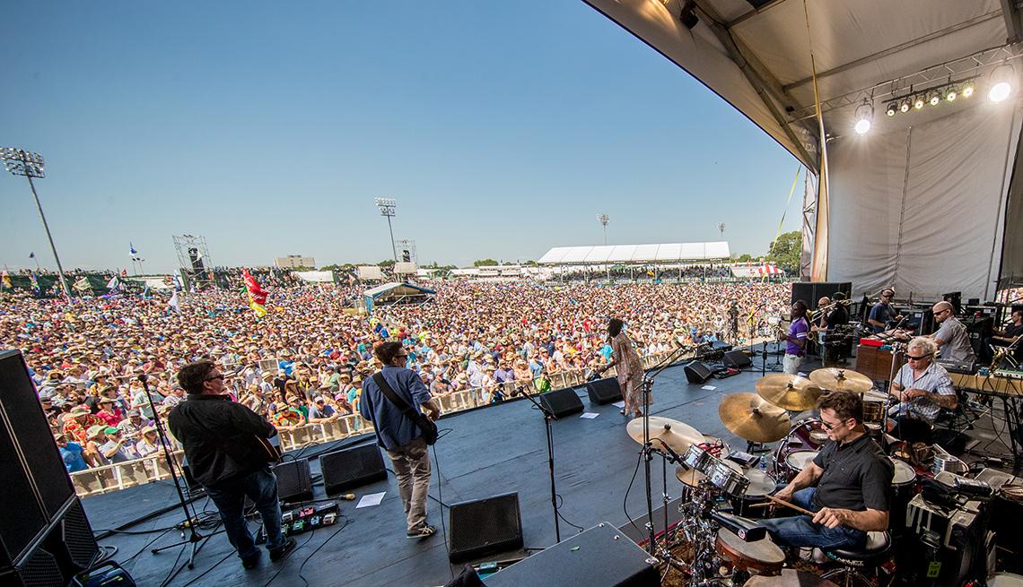 JazzFest New Orleans Stage