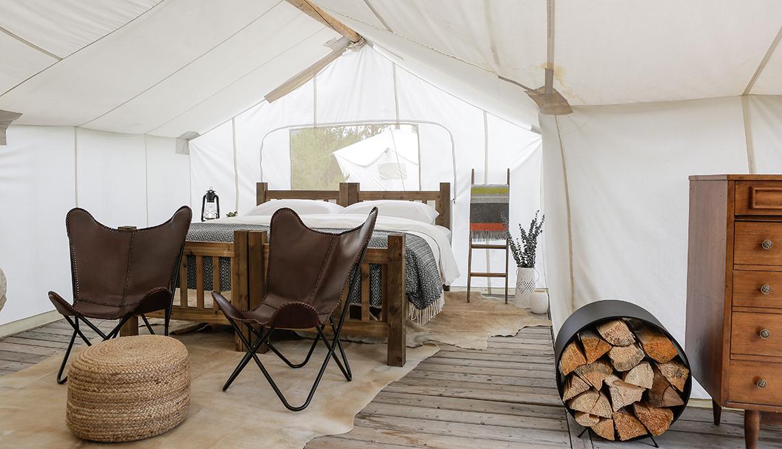 Suite at Under Canvas - Glacier National Park