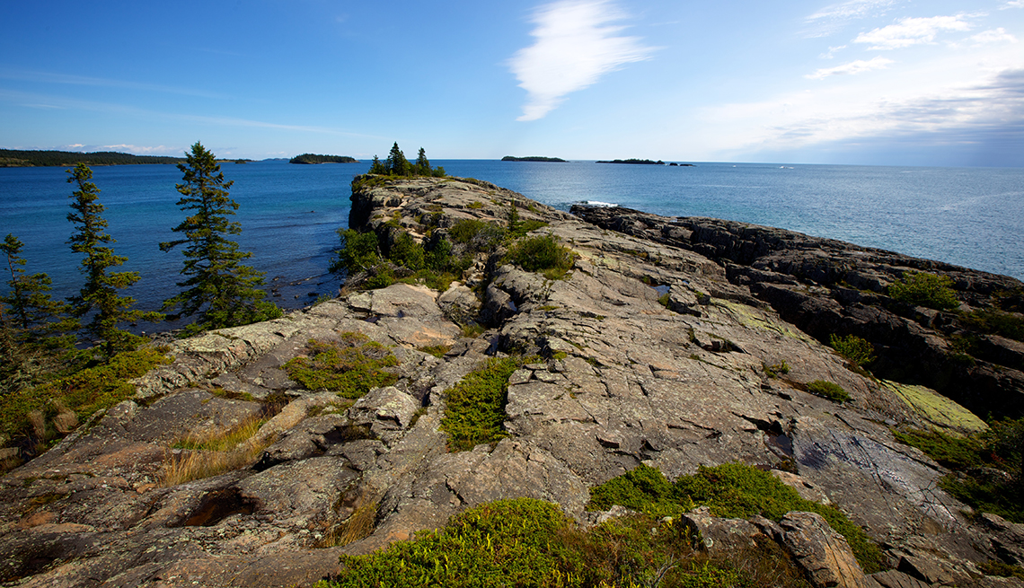 Isle Royale National Park on Lake Superior