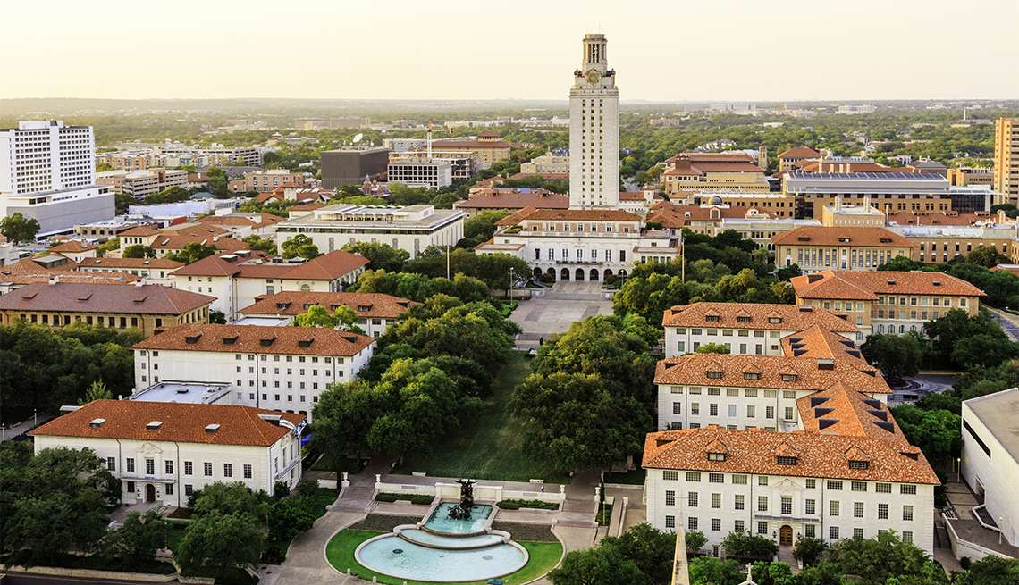 item 6 of Gallery image - University of Texas Austin campus at sunset