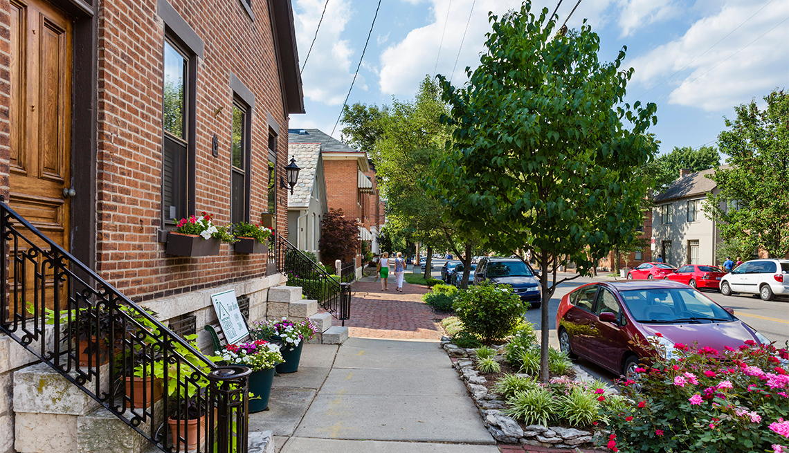 item 3 of Gallery image - South 3rd Street in the German Village district, Columbus, Ohio