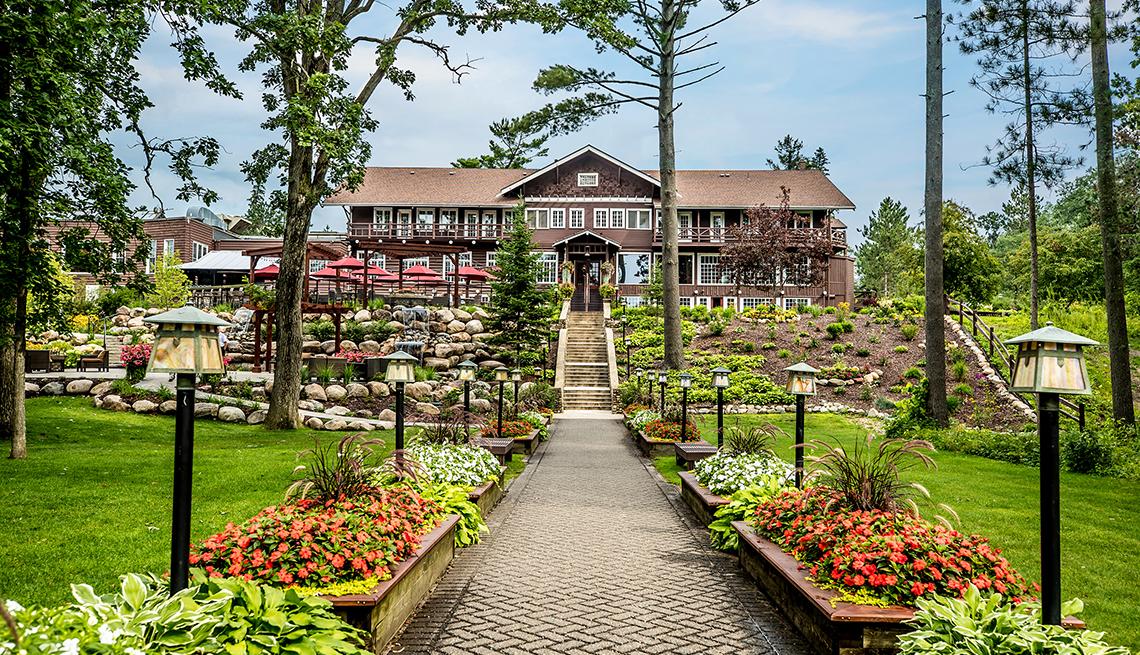 item 3 of Gallery image - view of Grand View Lodge resort in Nisswa, Minnesota