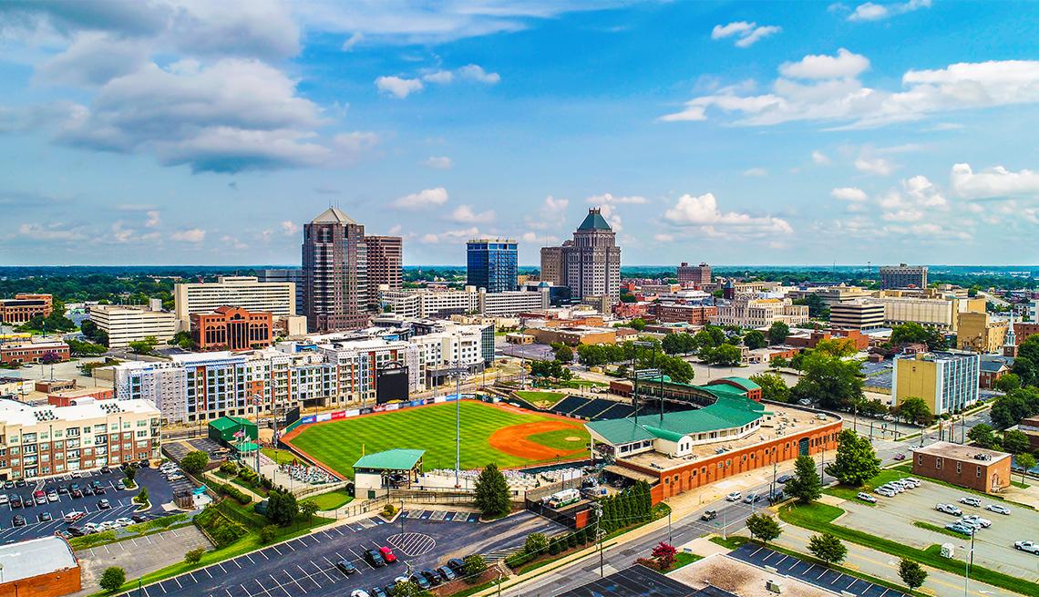 item 8 of Gallery image - Downtown Greensboro, NC skyline