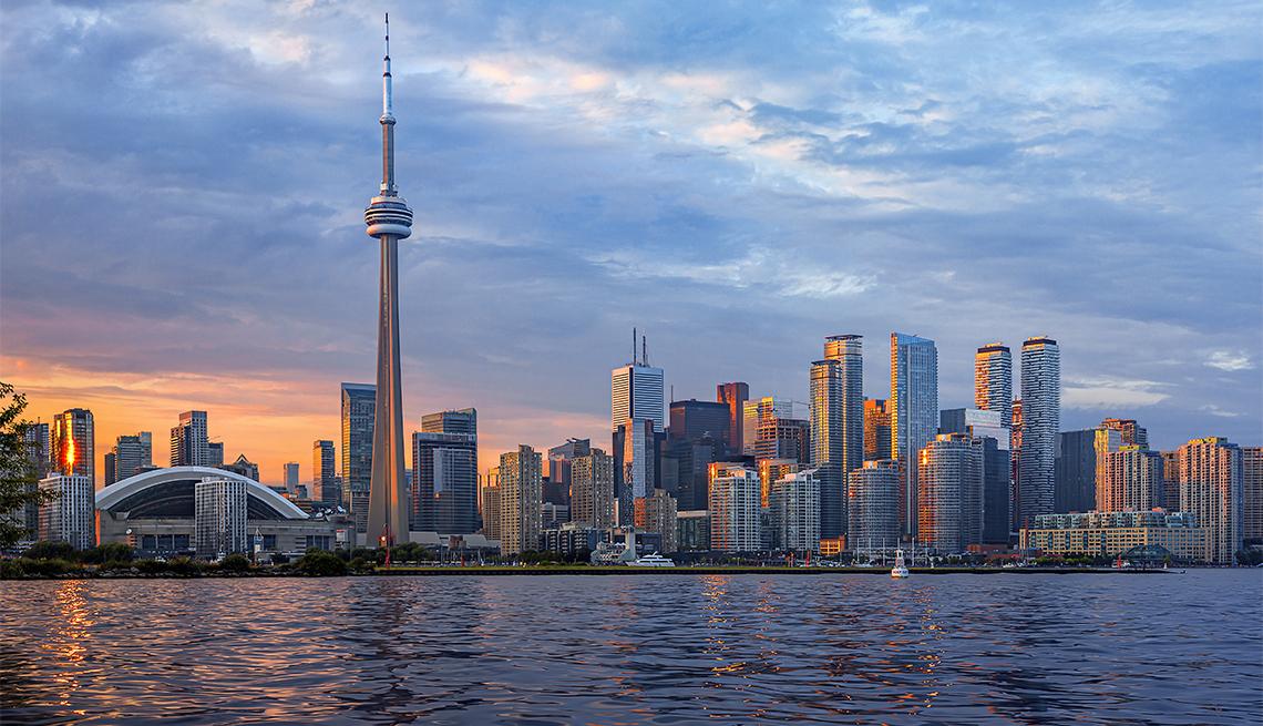 Vista panorámica de la ciudad de Toronto