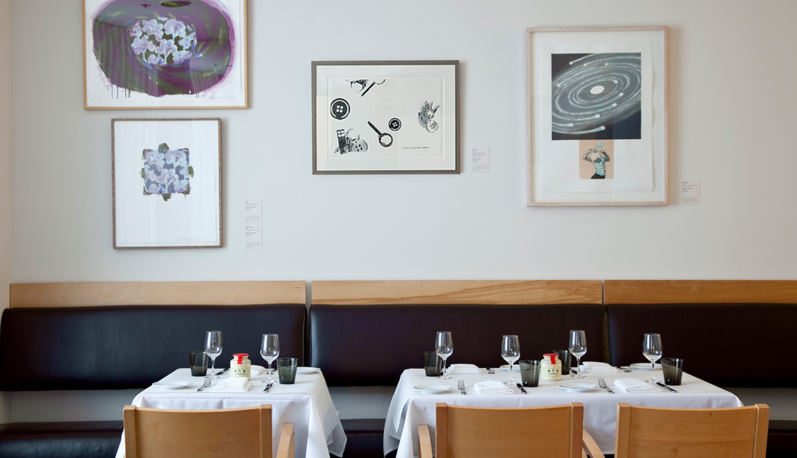 Restaurantes de museos que fascinan a chicos y grandes