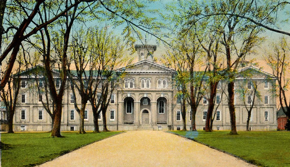 Crozer Theological Seminary, Circa 1917