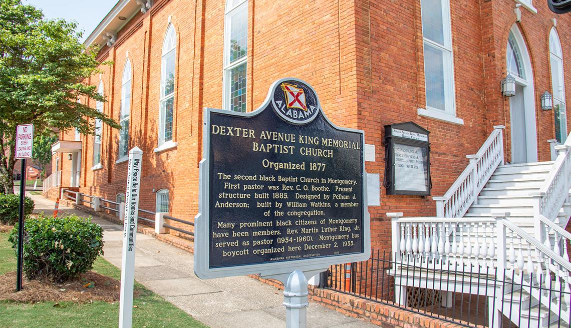 Iglesia bautista en Montgomery, Alabama