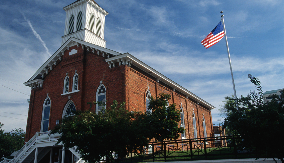 The church has become a historic site since Martin Luther King, Jr. was a pastor there from 1954 to 1960.