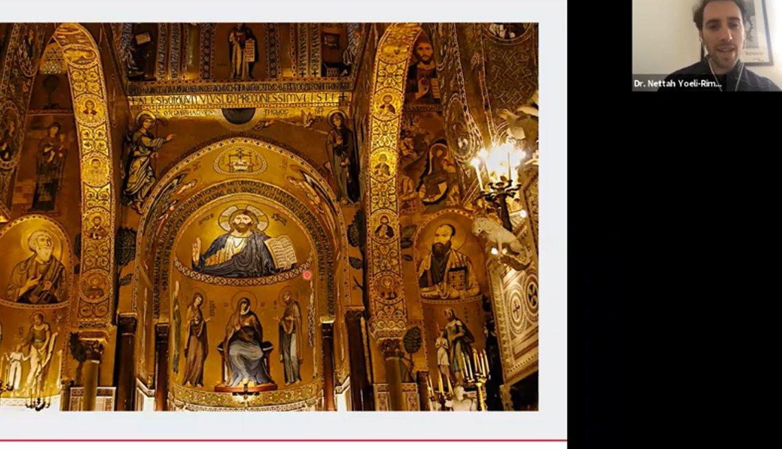 item 4 of Gallery image - Captura de pantalla del seminario web de historia vikinga