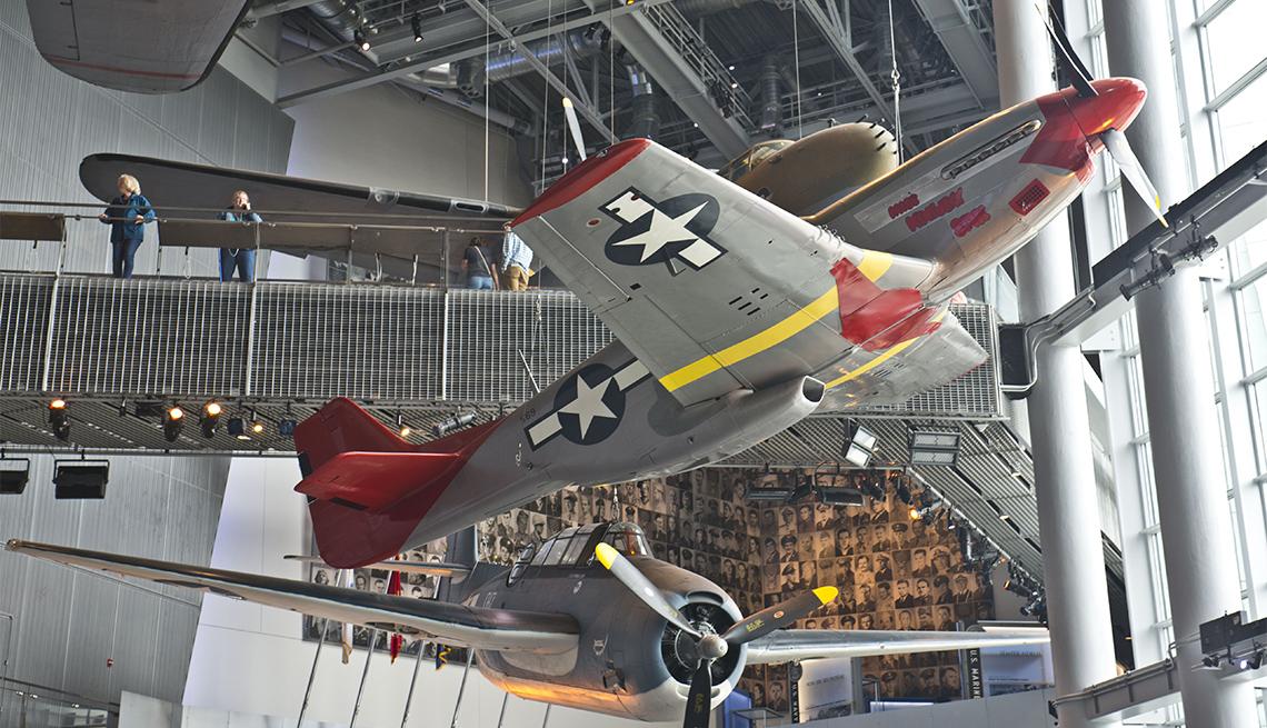 Avión en el Museo Nacional de la Segunda Guerra Mundial