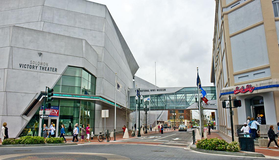 National World War II Museum Buildings, Solomon Victory Theater Complex