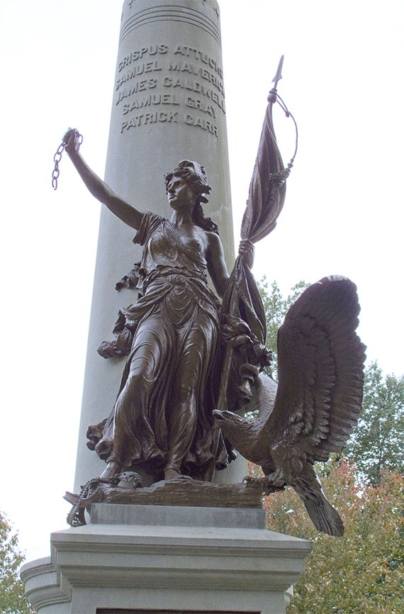 Boston Massacre/Crispus Attucks Monument