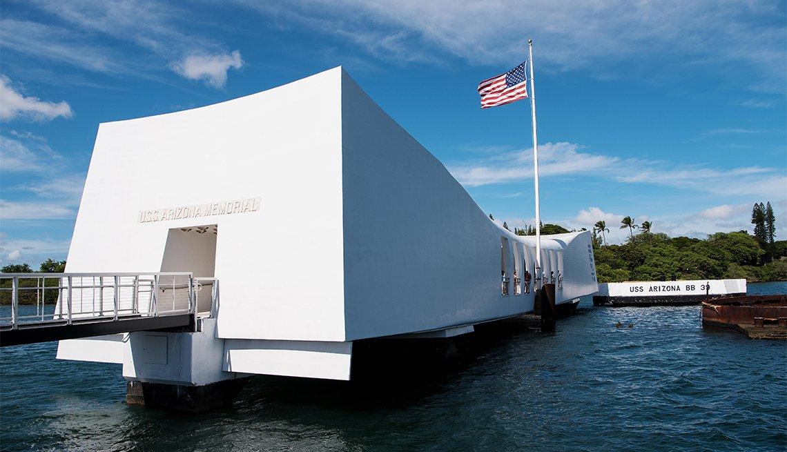 U.S.S. Arizona Memorial in Pearl Harbor