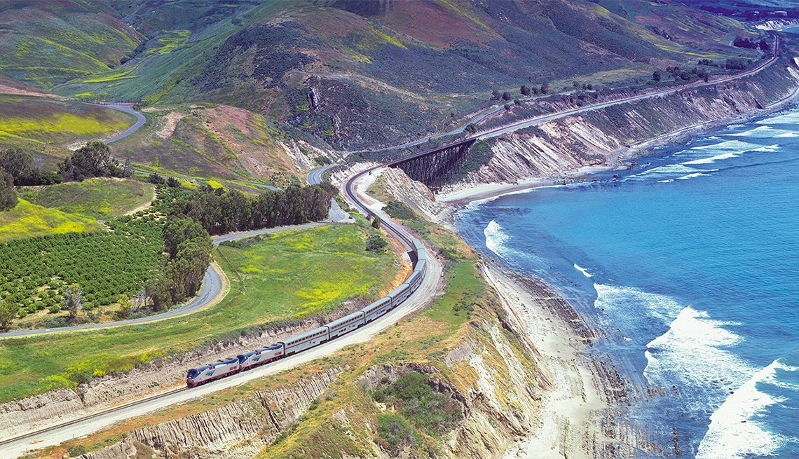 Amtrak Discount Train Tickets Amtrak Train Fares Amtrak Train - Amtrak us map vacations scenic