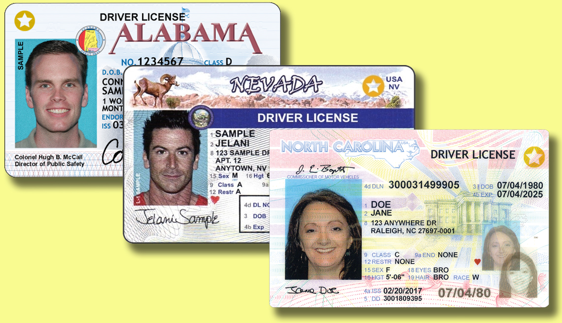 REAL-ID   driver's licenses