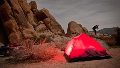 5 consejos para acampar en el desierto