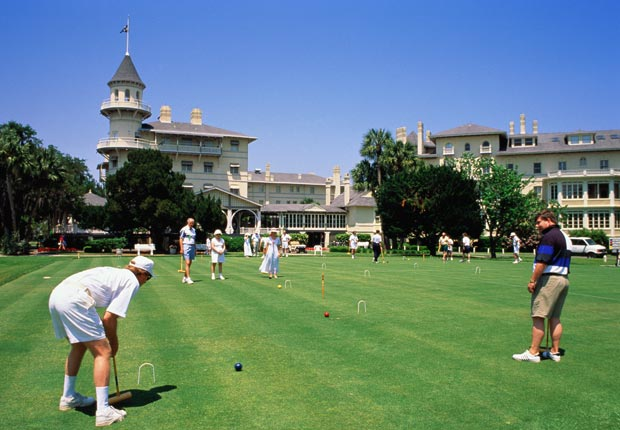 Jekyll Island Club Hotel in Georgia