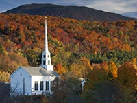 AARP and Frommers - Fall Colors in America - Stowe, Vermont