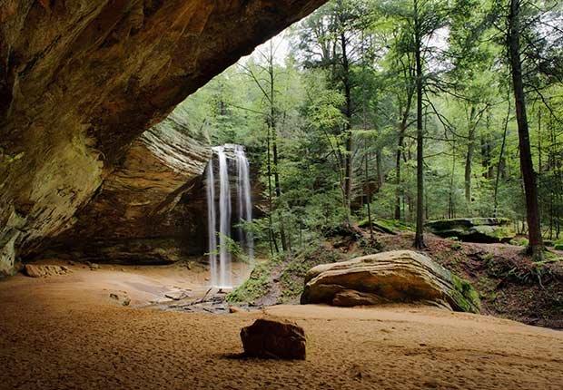 Parque estatal Hocking Hills, Ohio - Destinos de vacaciones