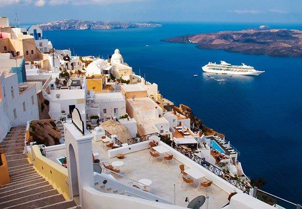 Isla de Santorini - Guía para planificar un viaje en crucero