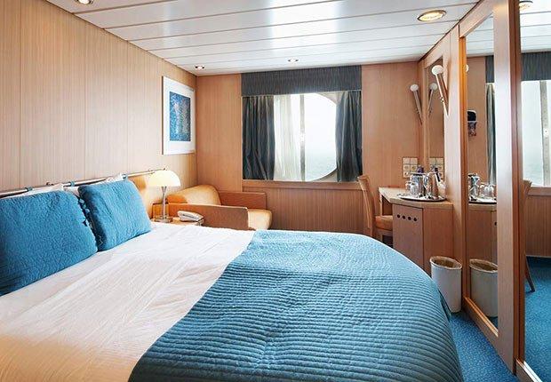 Habitación de un crucero - Guía para planificar un viaje en crucero