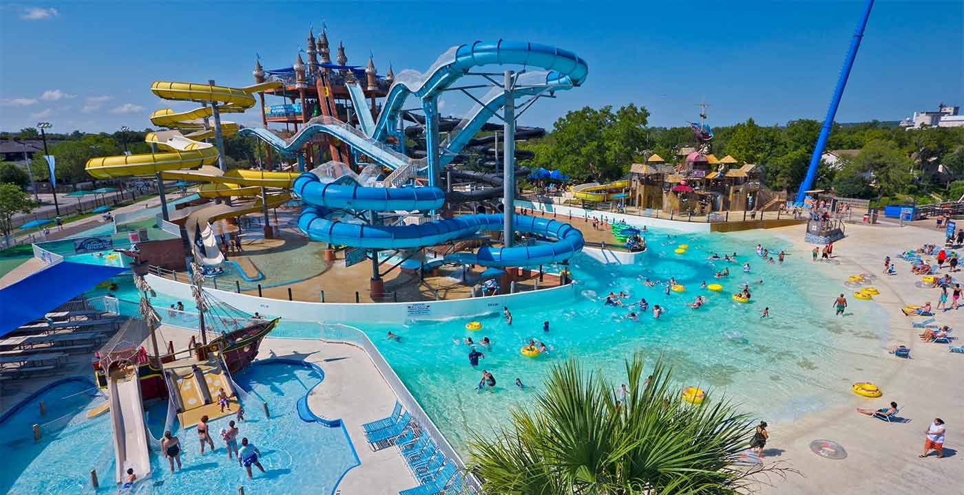 Places to go on vacation: New Braunfels, 10 Best Waterparks in America
