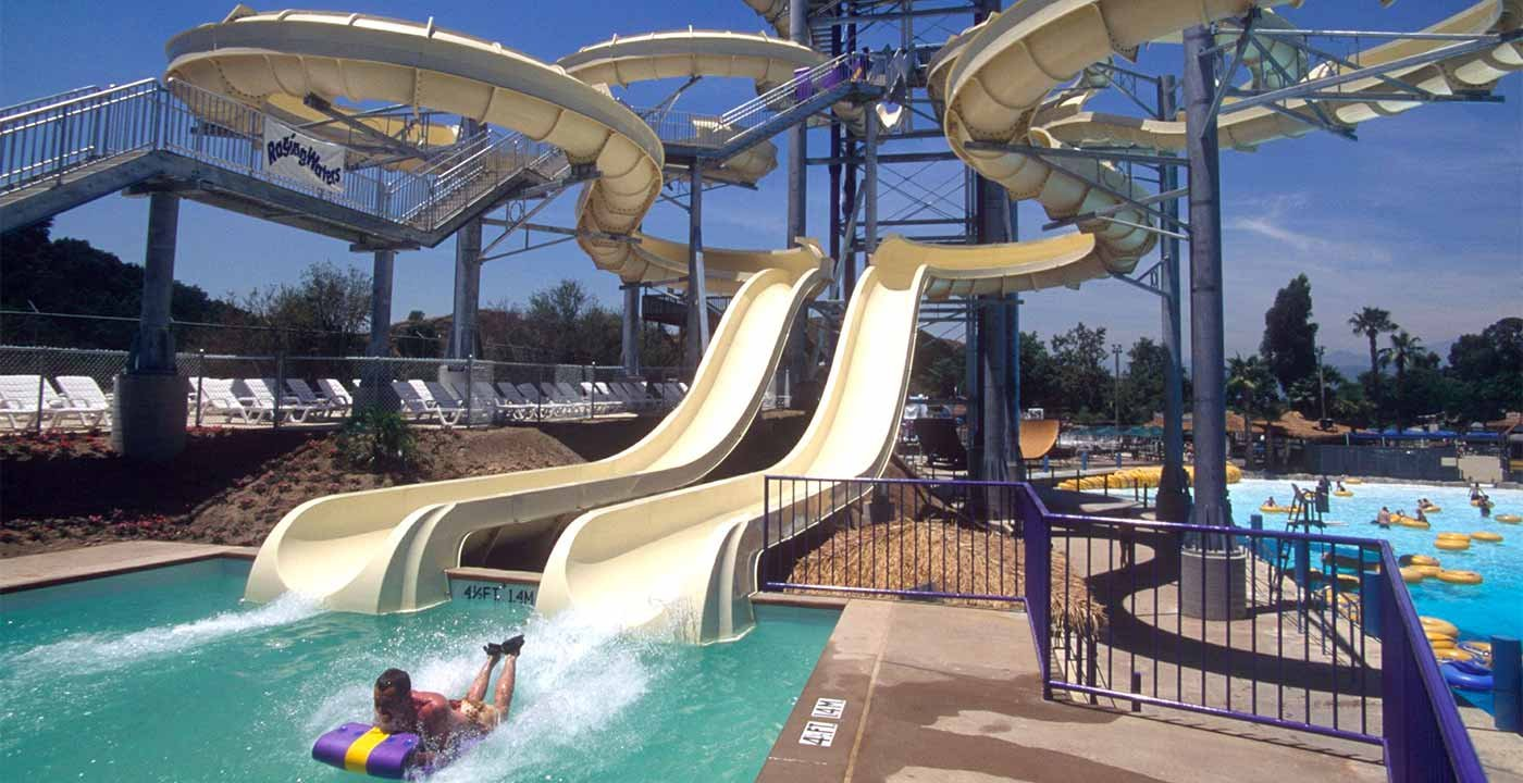 Raging Waters, San Dimas, Calif.