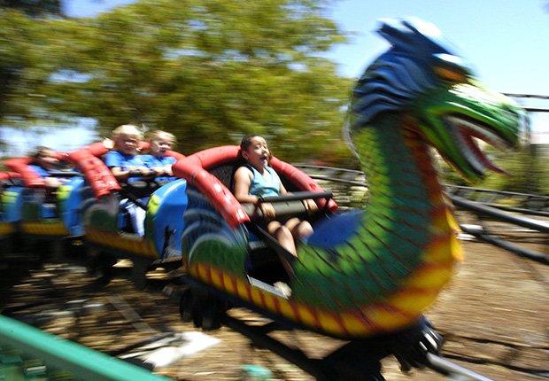 Parques de diversiones para toda la familia - Pixieland Amusement park en Concord Calif