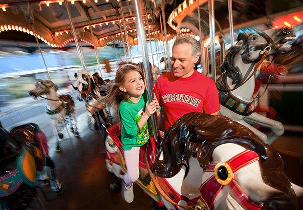 Parques de diversiones para toda la familia - Hersheypark (Hershey, Pa.)