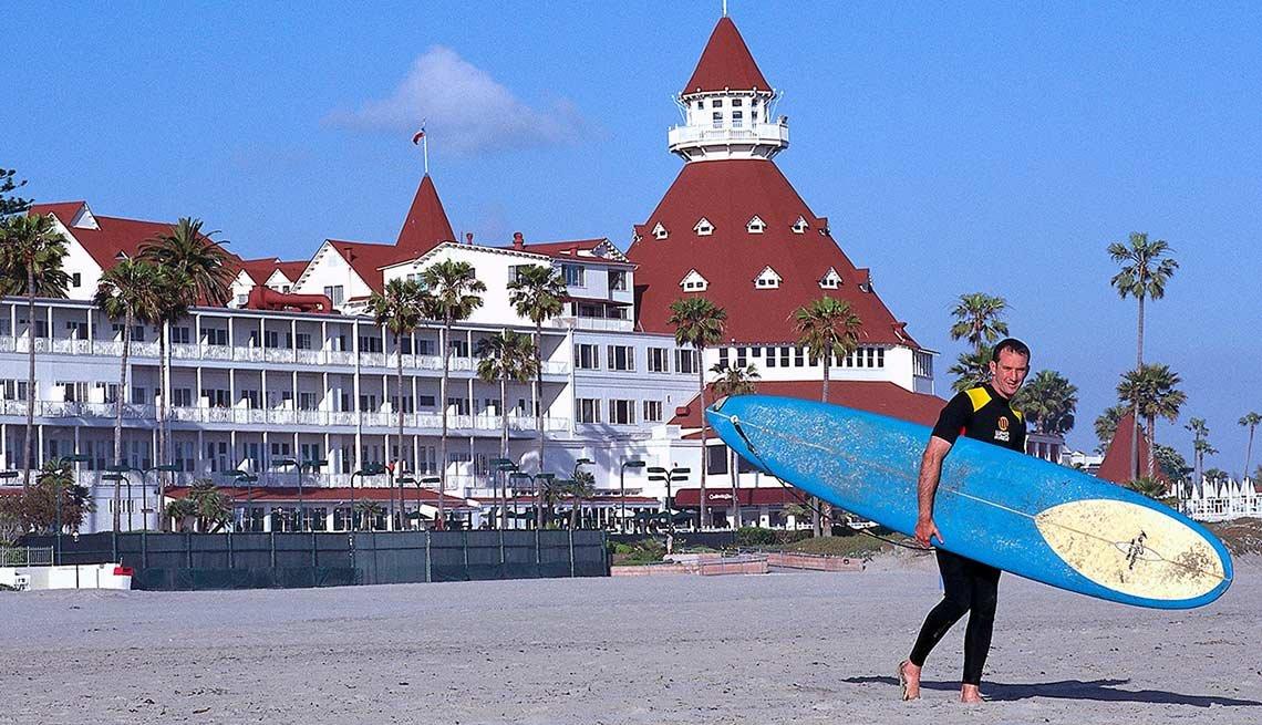 Playas atractivas en el mundo - Coronado Beach, California