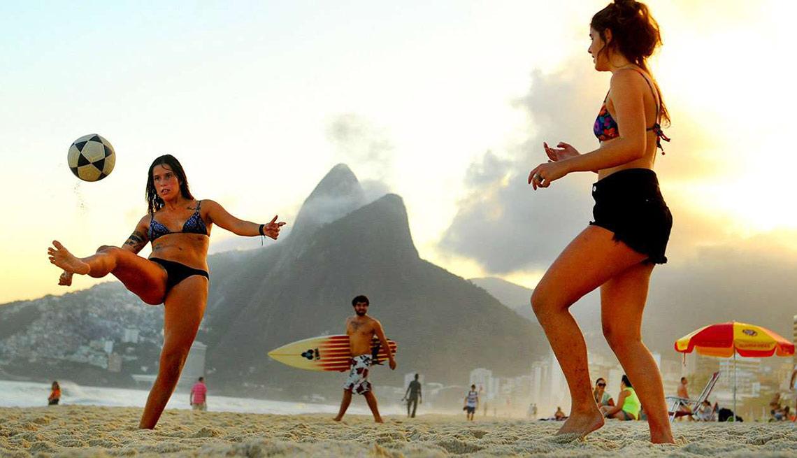 Playas atractivas en el mundo - Ipanema, Brazil