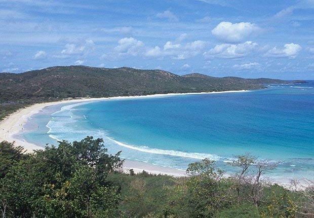 Playas atractivas en el mundo - Flamenco Beach, PR