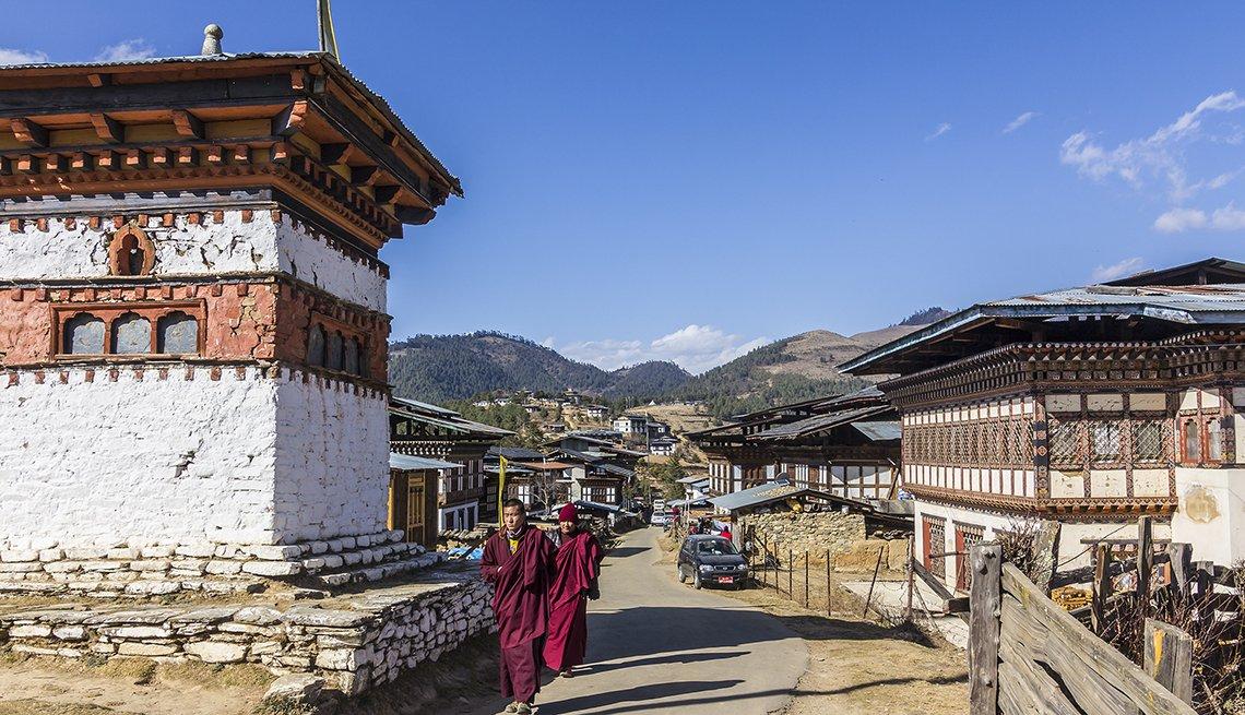 Valle de Phobjika, Bután