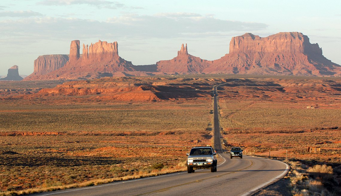 Route 66, Monument Valley, Great American Road Trips