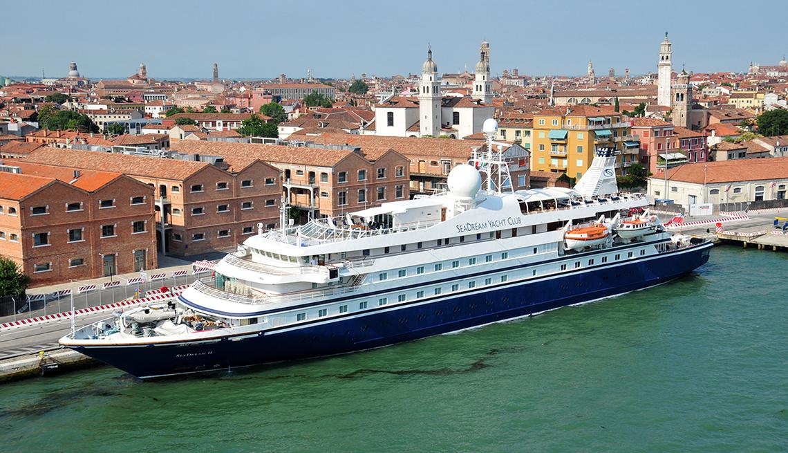 Seadream II en Venecia