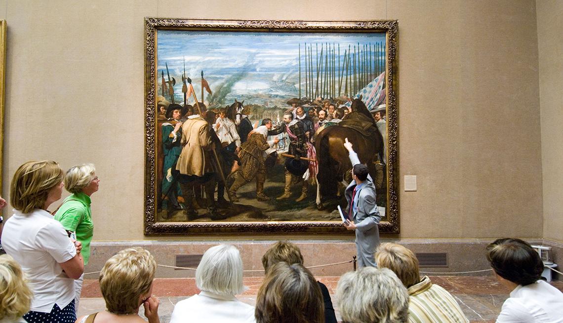 Secretos de los guías de arte de museos - Obra La Rendición de Breda, de Velazquez, Museo del Prado