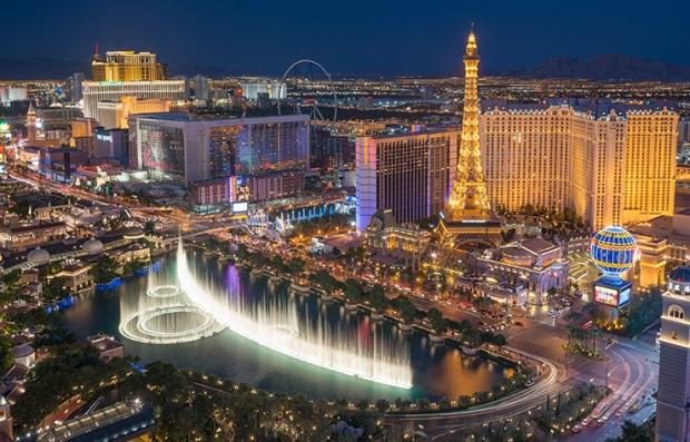 Estrategias para conseguir descuentos en viajes de último minuto - Ciudad de Las Vegas desde el aire
