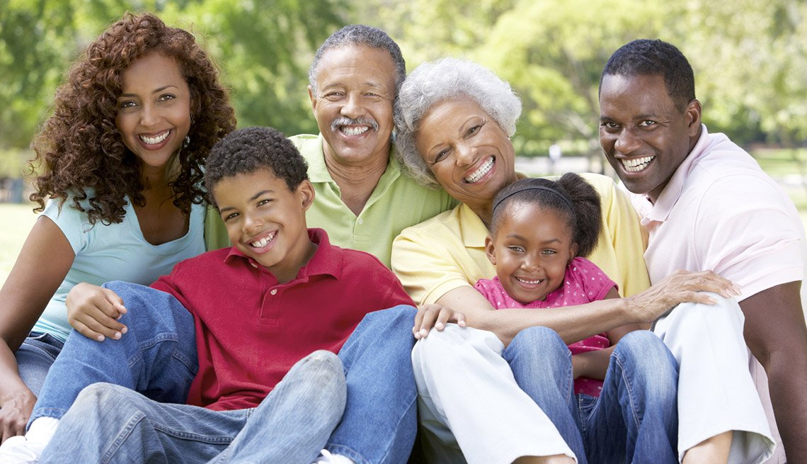 Multi-generational African American Family In Park, Tips For A Successful Family Reunion